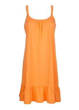 Пляжное платье с воланом