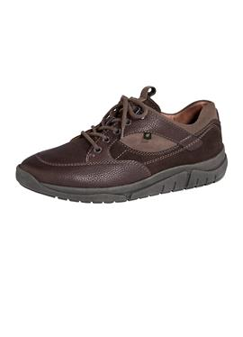 Обувь на шнуровке из мягкой кожи