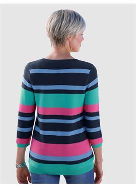Пуловер с Rippstruktur
