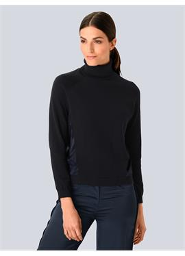 Пуловер с Seide