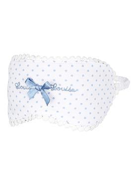 Schlafmaske mit hübscher Satinschleife