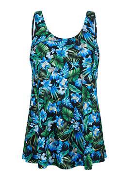 Банное платье в форме юбки, подчеркивающей фигуру