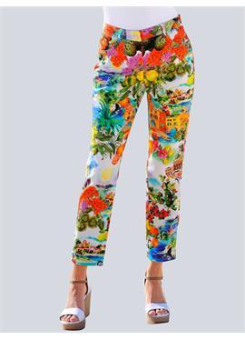 Пляжные брюки с принтом в итальянском стиле