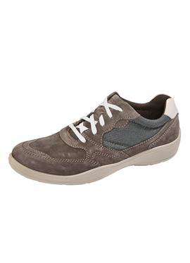 Туфли на шнуровке с модной строчкой