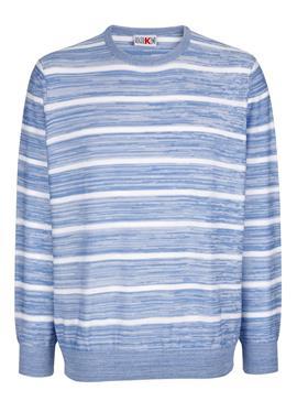 Пуловер im modischen Streifen-Look