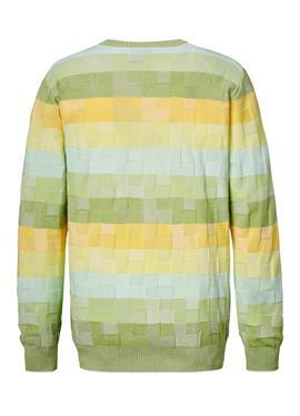 Пуловер aus aufwändigem Strukturstrick