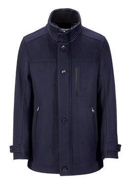 Пальто из шерсти с Strickeinsatz im воротник