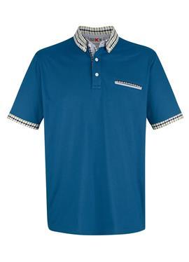 Рубашка поло с контрастной обработкой