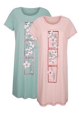 Ночные рубашки с цветочным принтом