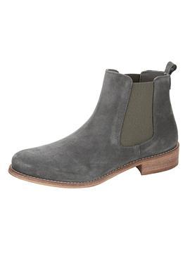 Ботинки челси с эластичными вставками с двух сторон