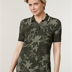 Рубашка-поло с удобным трикотажным воротником