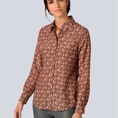 Блузка рубашечного покроя im modischem принт
