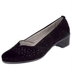 Туфли-лодочки с тонкими стразами