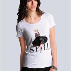 Рубашка в эксклюзивном дизайне от Alba Moda