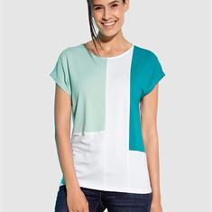 Рубашка с цветными блоками