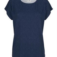 Рубашка с точечным принтом