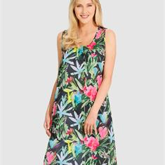 Пляжное платье летнего, легкого качества