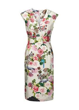 Платье с красивым принтом