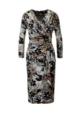 Женственное платье с запахом