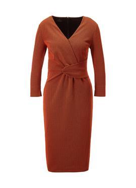Платье из джерси с 3/4 рукава