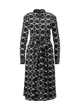 Платье с графическим узором
