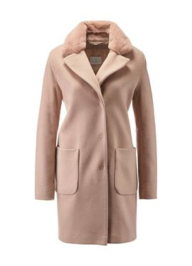 Короткое пальто с Webpelz-Besatz