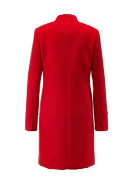 Короткое пальто с стоячий воротник