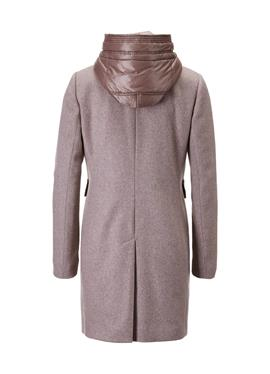 Duffle-Coat mit Steppeinsatz