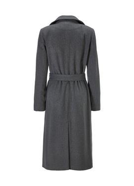 Длинное пальто из кашемира