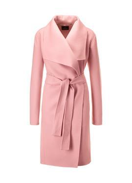 Двустороннее шерстяное пальто
