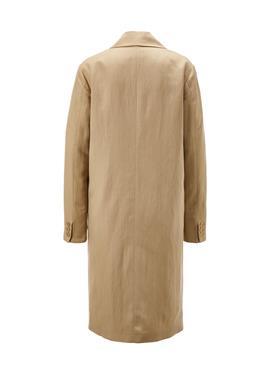 Zweireihiger пальто с markanten Knöpfen