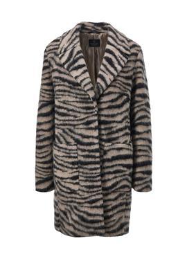 Пальто с Animalprint