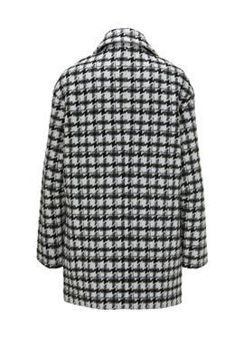 Короткое пальто с узором