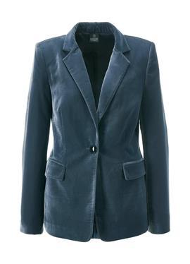 Тонкий бархатный пиджак