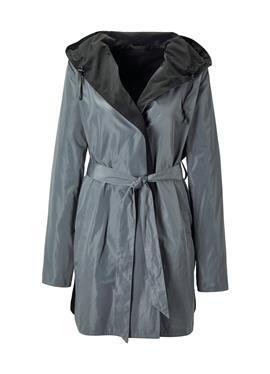 Куртка с капюшон und Bindegürtel