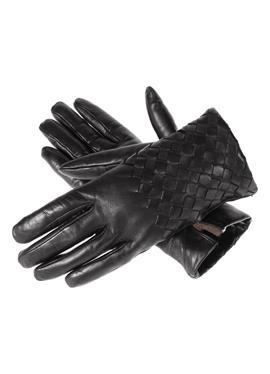 Кожаные перчатки с кашемировой подкладкой