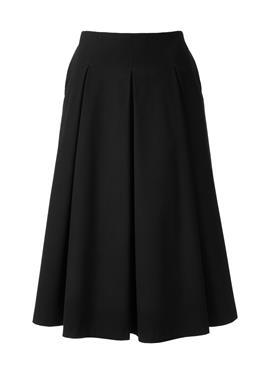 Длинная юбка в складку из ткани с керамическими волокнами