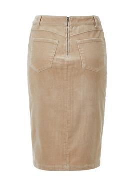 Knielanger вельветовая юбка с пуговицы