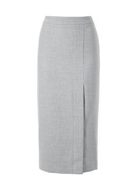 Твидовая юбка миди