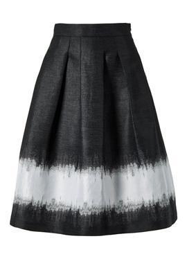 Ausgestellter юбка с Jacquard-Muster
