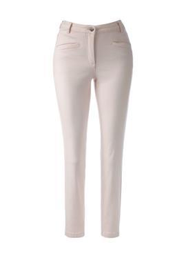 Узкие простые джинсы