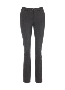 Облегающие брюки из джерси