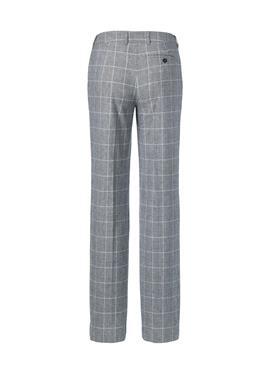 Широкие брюки glencheck