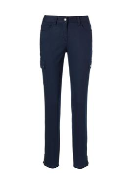 Schlanke Cargo-Jeans