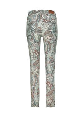 Schlanke джинсы с Paisley-Muster