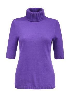 Кашемировый свитер с воротником