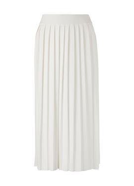 Вязаная юбка с Plissee