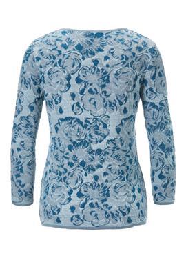 Вязаная кофта с floralem Jacquard-Muster