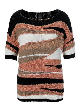 Пуловер из жаккарда