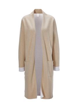 Langer вязаное пальто в Doubleface-Qualität